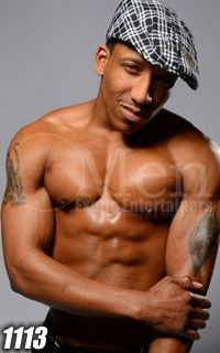 Black Male Strippers 1113-4