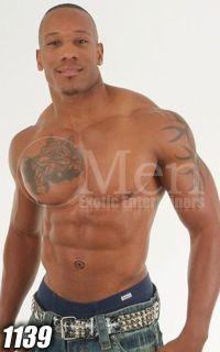 Black Male Strippers 1139-2