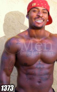 Black Male Strippers 1239-4