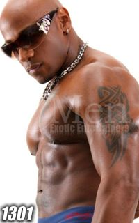 Black Male Strippers 1301-3