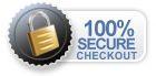 100% Secure Checkout SSL