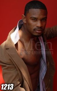 Black Male Strippers 1213-1 ---TEMPTATION---