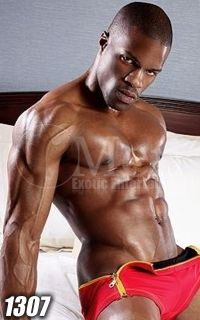 Black Male Strippers 1307-3